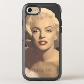 Grafische graue Marilyn OtterBox Symmetry iPhone 8/7 Hülle