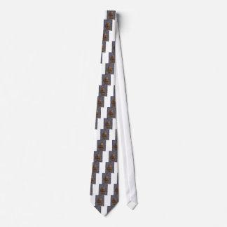 Grafische Malerei-Kristallstein-Fliesen Krawatte