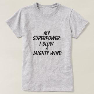 Grafischer die Supermacht-T - Shirt der Frauen