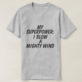 Grafischer die Supermacht-T - Shirt der Männer