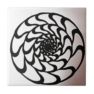 Grafischer Kreis-Entwurf Keramikfliese