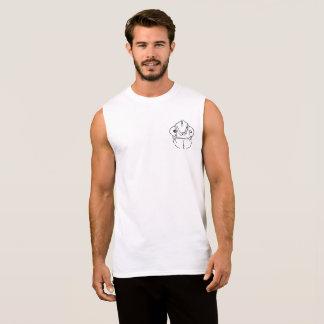 Grafischer Taschenentwurf des ungeschickten Ärmelloses Shirt