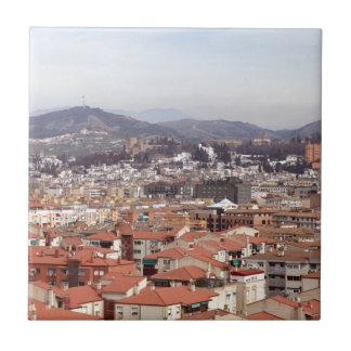 Granada-Gebäude Spanien Keramikfliese