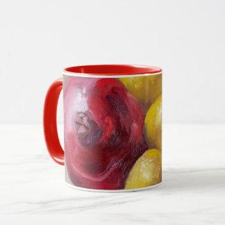Granatapfel u. Zitronen Tasse