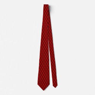 Granats-rote Imitat-Polsterungs-Button-Biesen Krawatte
