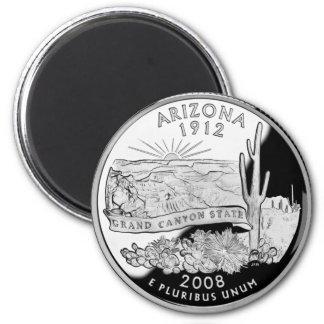 Grand- Canyonbeweis 2008 Arizonas Runder Magnet 5,7 Cm