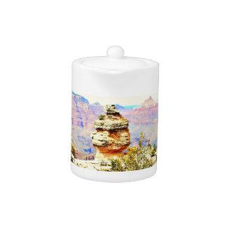 Grand- Canyonfelsen-Tee-Topf