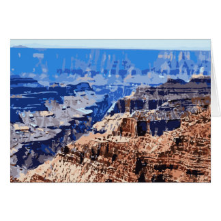 Grand- CanyonNationalpark-Retro Entwurf Karte