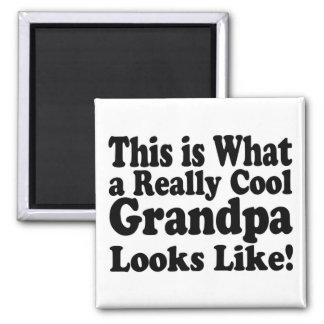 Grand-papa vraiment frais aimant