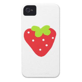Grande fraise coques iPhone 4