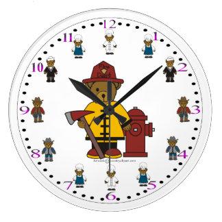 Grande Horloge Ronde L'horloge murale des enfants