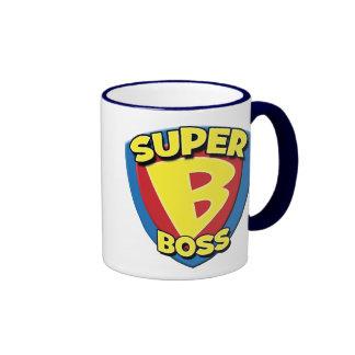 Grande tasse de café de patron superbe