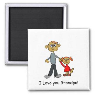 Grandpa_Art Magnet (personifizieren Sie)