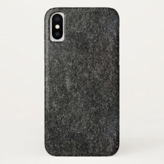 Granit-Eisen iPhone X Hülle