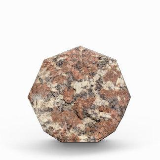 Granit-Felsen-Beschaffenheit --- Rosa Auszeichnung