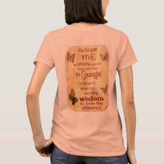 Grant ich Ruhe - Ruhe-Gebet - die T der Frauen T-Shirt