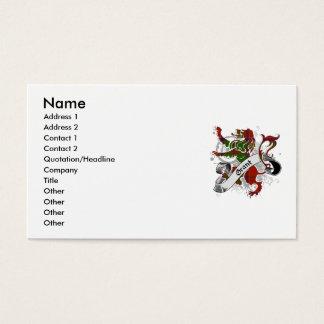 Granttartan-Löwe Visitenkarte