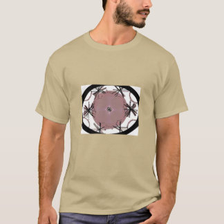 Graphiic Kunst-Oval T-Shirt