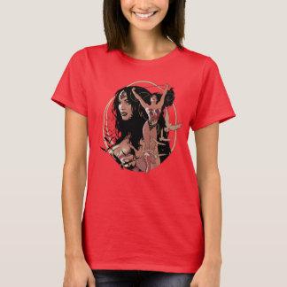 Graphique comique de la couverture #150 de femme t-shirt