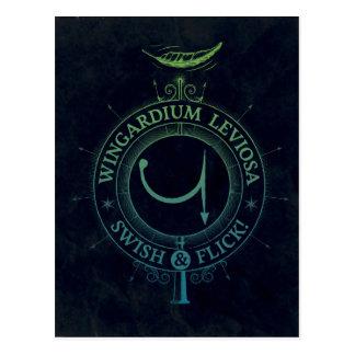 Graphique du charme   Wingardium Leviosa de Harry Carte Postale