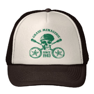 Gras-Menagerie-Hut Baseball Mütze