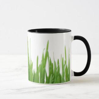 Gras-Rasen-Wecker-Tasse Tasse