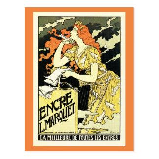 Grasset, Vintages Kunst nouveau französische Postkarte