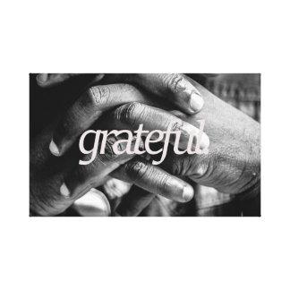 grateful.all vorbei leinwanddruck
