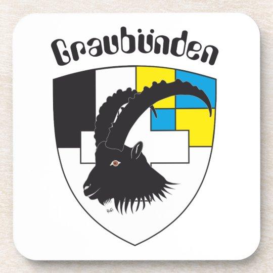 Graubünden Schweiz Untersetzer