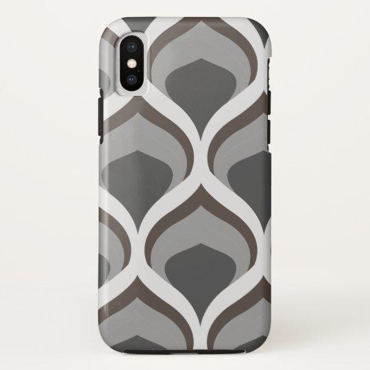 graue geometrische Tropfen HTC Vivid / Raider 4G Cover