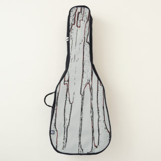 Graue Perspektive Gitarrentasche