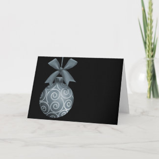 Grey Sandstone Ornament Christmas Cards