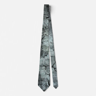 Graue städtische Kunst-gebrochene Zement-Krawatte Personalisierte Krawatten