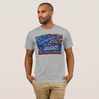 Grauer Gewerkschafts-Widerstand-T - Shirt