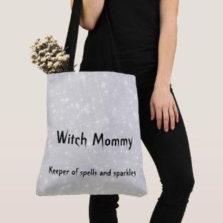 Grauer/grauer funkelnd Entwurf der Hexe-Mama Tasche