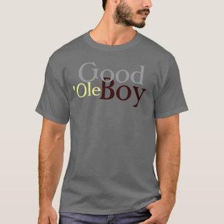 Grauer guter Ole der Jungen-T - Shirt der Männer