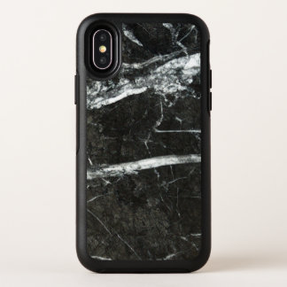 Grauer Marmor OtterBox Symmetry iPhone X Hülle
