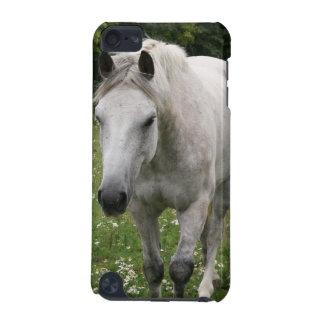 Grauer PferdiTouch Kasten iPod Touch 5G Hülle