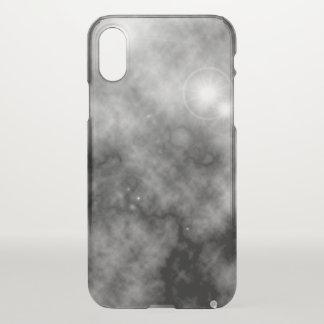 Grauer Raum-Nebelfleck und Supernova iPhone X Hülle