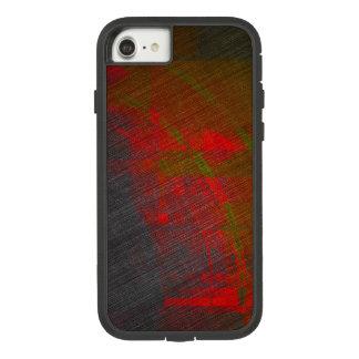 Grauer und roter abstrakter Druck Case-Mate Tough Extreme iPhone 8/7 Hülle