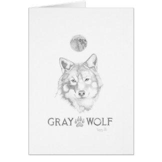 Grauer Wolf-Anmerkungs-Karte Scotts Doying Karte