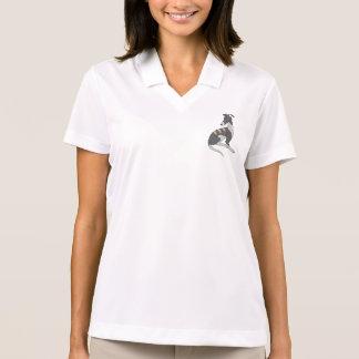 Graues Brindle Roo Polo Shirt