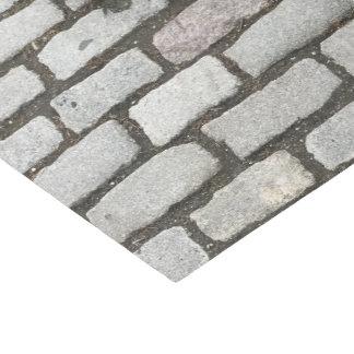 Graues Kopfstein-Stein-Muster-Druck-Seidenpapier Seidenpapier