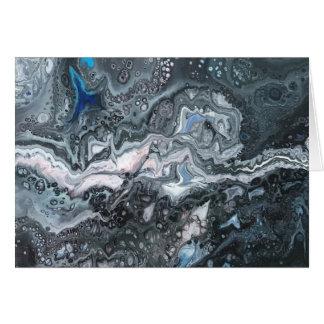 Graues Marmorn Karte