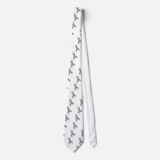 Graues politische Aussagen-Bewusstseins-Band Personalisierte Krawatte