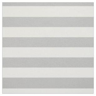 Graues und weißes Streifen-Muster Stoff