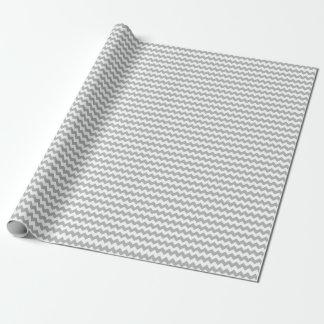 Graues Zickzack Verpackungs-Papier Geschenkpapier