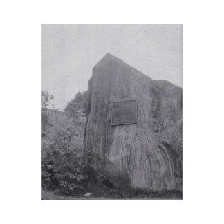 Graydon Felsen auf Leinwand