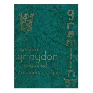 GRAYDON - GREMLIN 1957 POSTKARTE