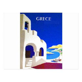 grece Vintag Postkarte